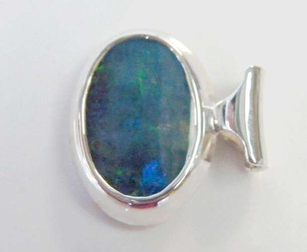 Sterling silver boulder opal pendant fg1193 opal endeavours sterling silver boulder opal pendant fg1193 aloadofball Gallery